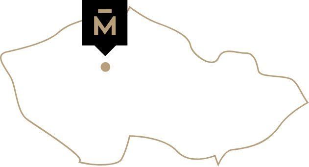 Infografika przedstawiająca lokalizację firmy Mark na mapie