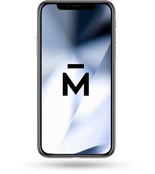 Telefon komórkowy z logiem firmy Martdiamonds