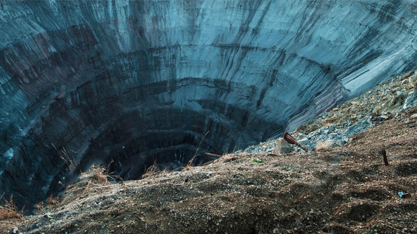 Nieczynna kopalnia diamentów
