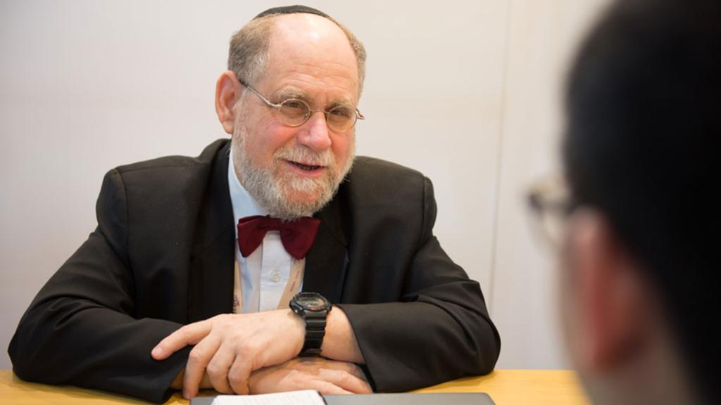 Martin Rapaport założyciel i pomysłodawca Rapaport Diamond Report.
