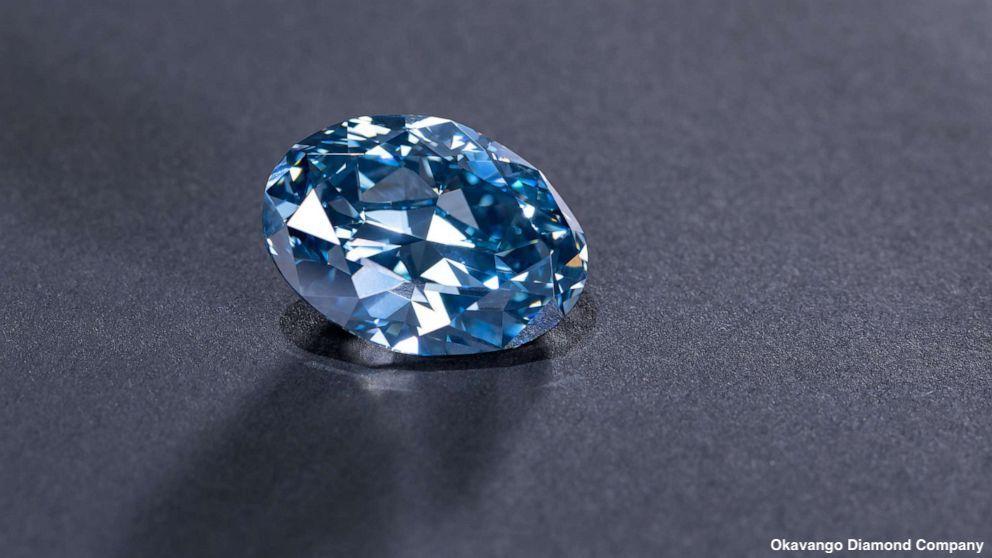 Najczystszy błękitny diament świata