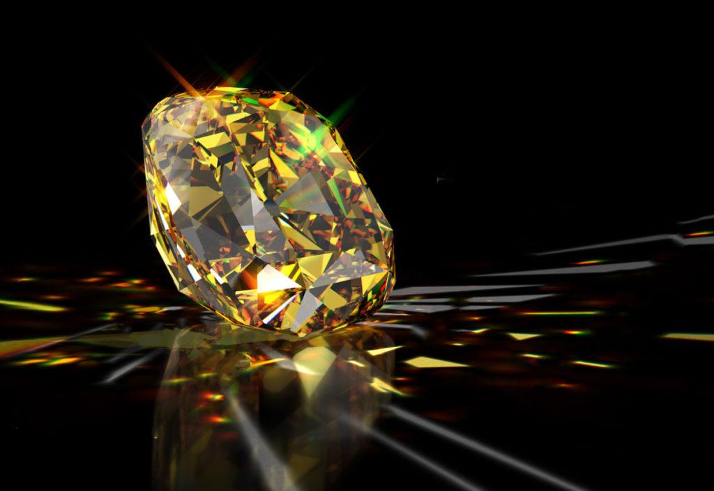 Hipnotyzujący żółty diament Tiffanyego