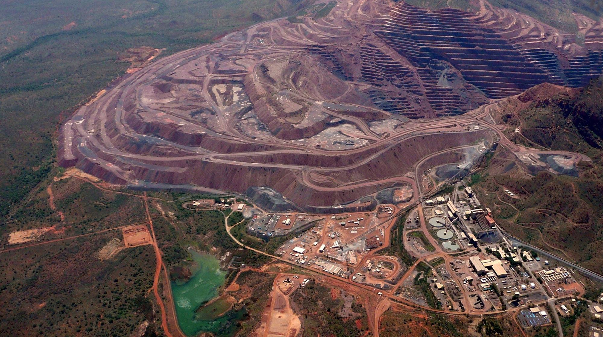 Argyle największa kopalnia odkrywkowa diamentów