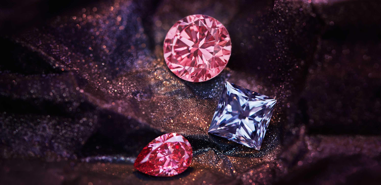 Diamenty kolorowe są najbardziej popularnymi kamieniami wśród inwestorów